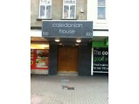 Fully Serviced Offices within CALEDONIAN HOUSE in Irvine town centre