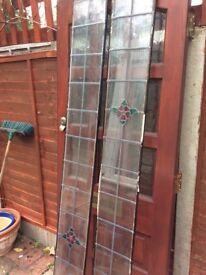 Pair of Double Glazed Front Door Panels
