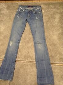 Victoria Beckham Jeans Size 24 Uk 6 100% Genuine