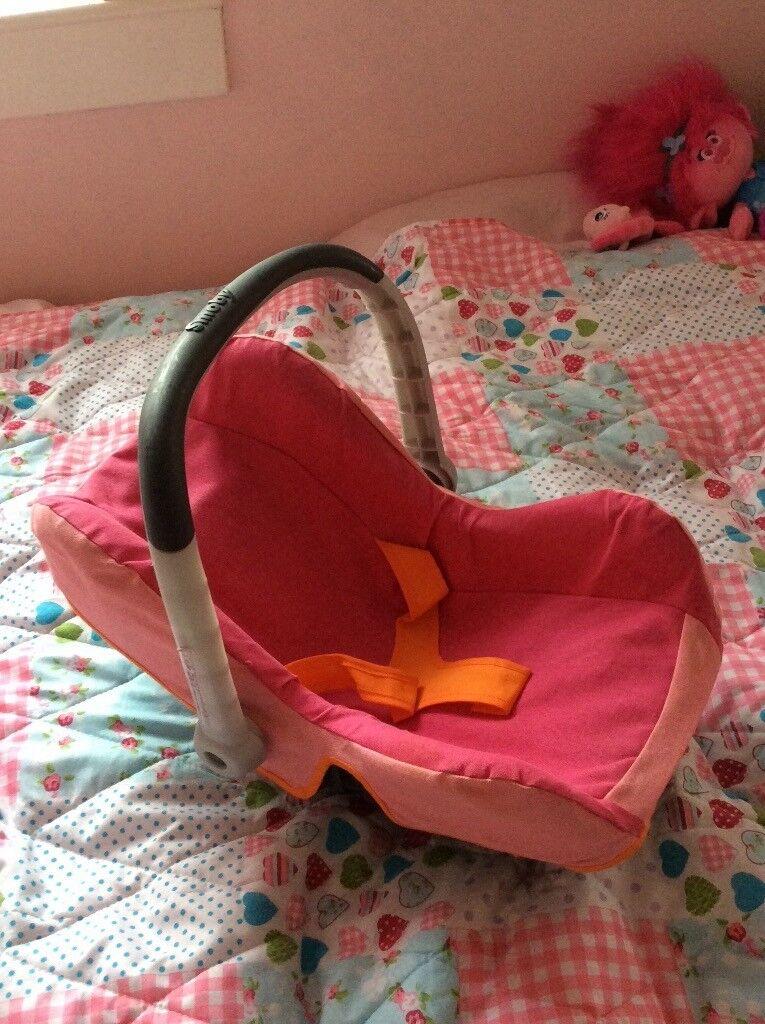 Dolls Smoby Car Seat