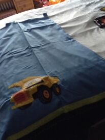 Next boys bedroom Digger bed set and full supporting items