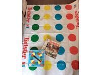 Vintage Twister Game