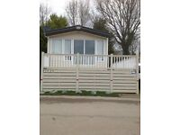 ABI 32ftx12ft static caravan,FGCH,Double Glazing, 2 1/2 years old,decking to front and side, 6 berth