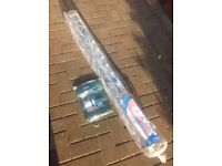New unopened 4arm rotary clothes dryer outdoor laundry washing line with cover