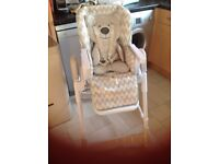 Highchair from age 6 mths