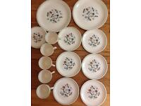 Price reduced now! Attractive Vintage 1960s Wood and Sons China tea set