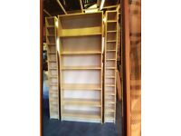 Shelving unit with matching cd/dvd storage - Ikea - good condition