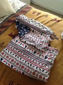 Christmas bedding single duvet set