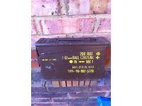 amunition box