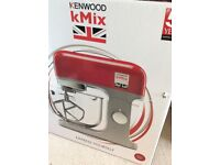 Kenwood NEW!! Red kmix stand mixer KMX754RD RRP £400