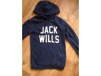 Jack Wills size 10 hoodie