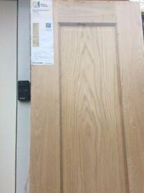 New Oak Door