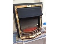 Dimplex Electric fire. Designed to fit 'flat to wall' or in 'fire surround'