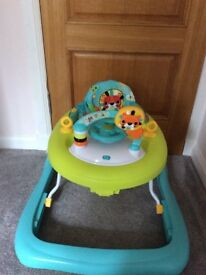 Bright Stars baby walker in nearly new condition bought for grandchild from a smoke free home