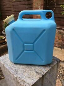 Retro 1970s water canister