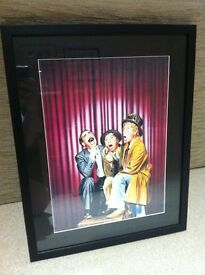 The Marx Brothers - framed print - excellent condition.