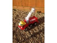 Child's large fire engine