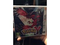 Pokemon y 3ds brand new and sealed