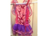 Butterfly girls costume, beautiful, immaculate, two available, from Toys R Us.