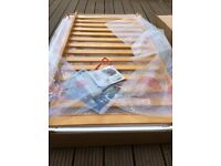 Mamas and Papas cot bed Hayworth range, antique pine As New