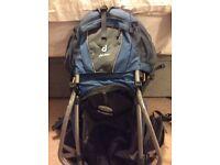 deuter baby/toddler rucksack