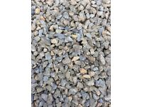 Grey garden and driveway chips