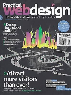 Practical Web Design Magazine Global Audience Eric Jordan Flash Iquery No Disc