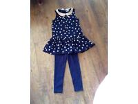 Gorgeous girls outfit age 7 years brand new
