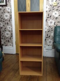 Shelving/display unit, bookcase only £5 quick sale tel. Liz 07933 398348