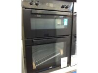 Beko built in double oven. RRP £320 price £250 new/graded 12 month Gtee