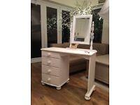 Beautiful white pine dressing table