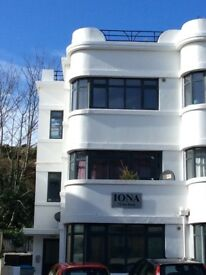1 bed First Floor Flat 100 Yards from Boscombe Pier - Available now.