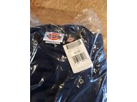 Brand new short sleeved Dickies overalls x2.