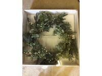 The white company Christmas wreath (new)