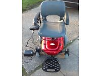 For sale electronic wheel chair in full working order