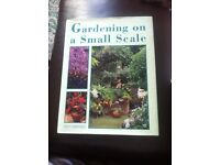 book gardening on a small scale