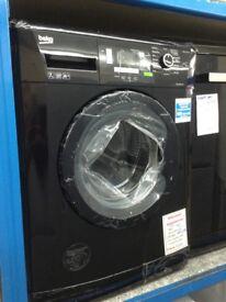 Beko 7kg 1400 spin washing machine. Black £220 RRP £299 new/graded 12 month Gtee