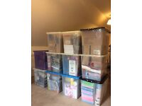 11 large boxes of baking items and paper tableware BRAND NEW