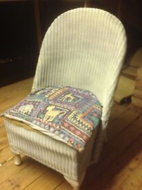 Rattan type chair in need of TLC