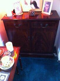 Mahogany Reproduction Furniture good condition