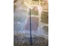 CARP FISHING LANDING NET AND HANDLE