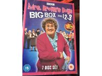 Mrs browns dvds series 1-3