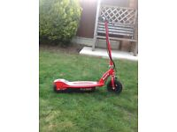 We selling 2 razor e100 electric scooters.