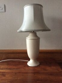 Ceramic Table Lamp Base with free Shade
