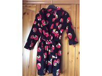 Angry birds dressing gown, size 7-8