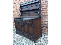 Ercol Oak Dresser Sideboard.. £85 .. Possible delivery