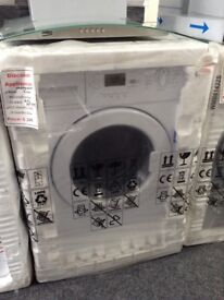 Beko intergrated washing machine. 6kg RRP £299 12 month Gtee
