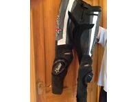 RST leather trousers
