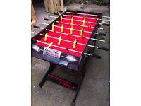 Table top football game in great condition