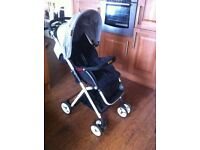 Besrey pushchair with rain cover